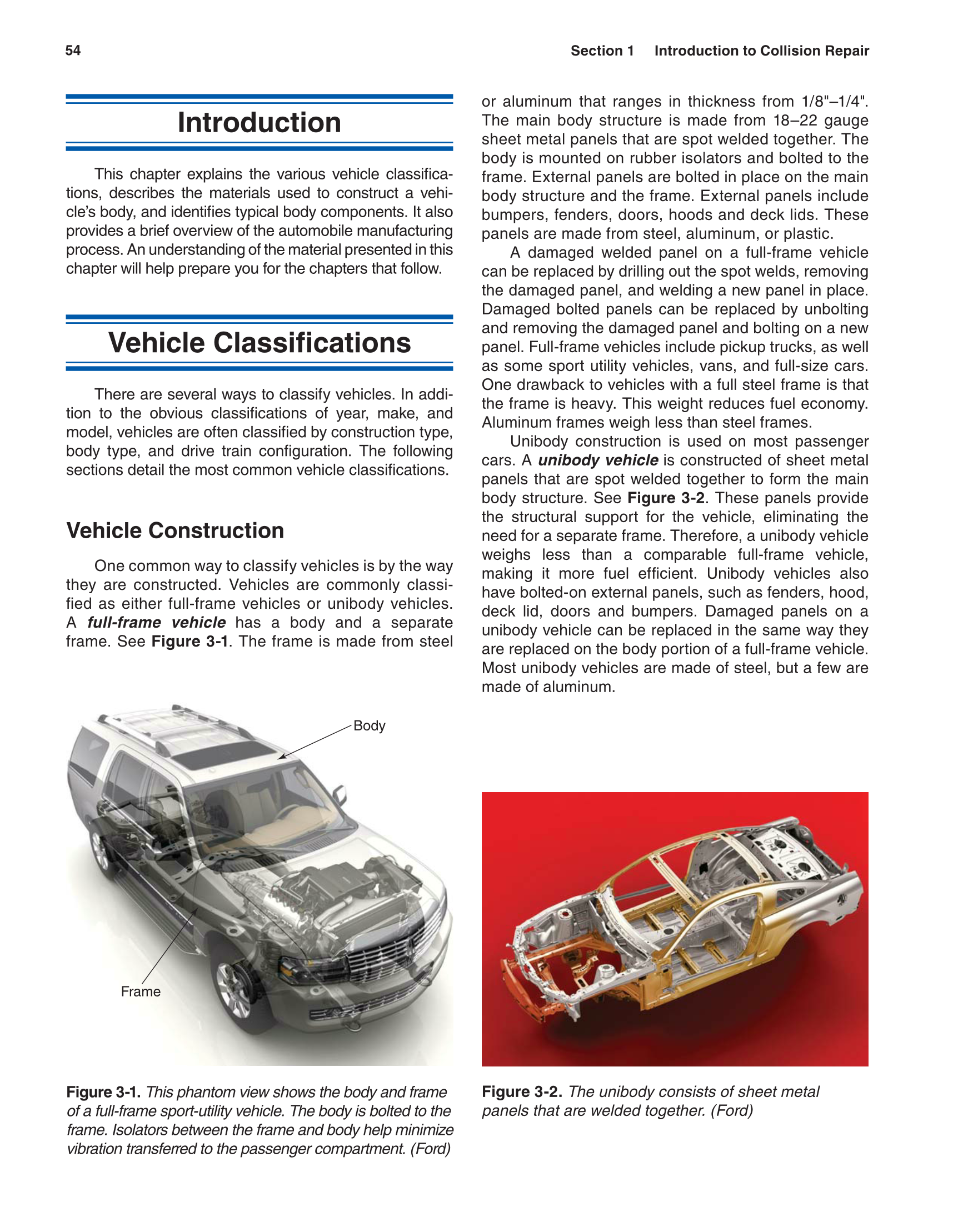 Printable: Auto Collision Repair and Refinishing, 1st Edition page 54