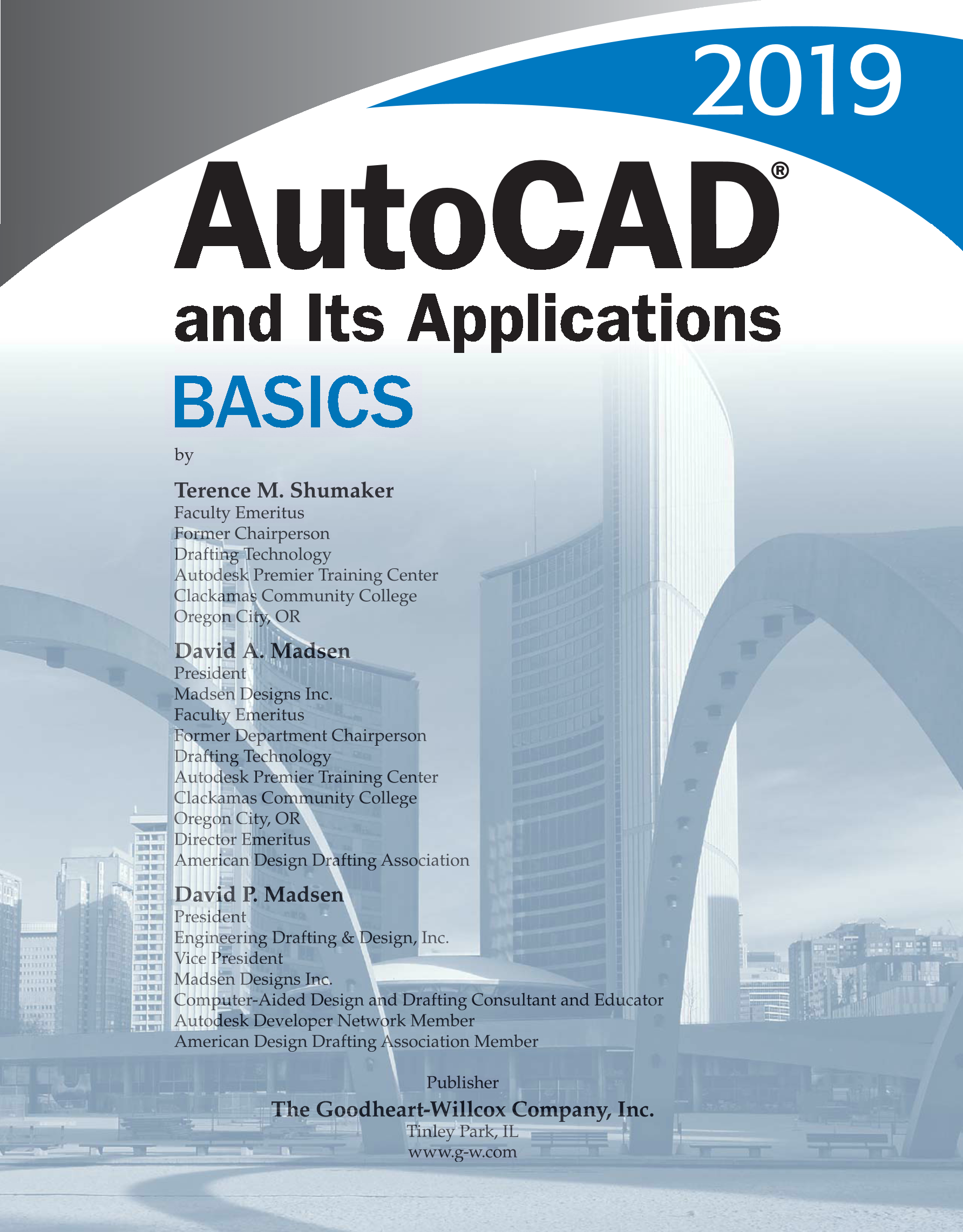 Printable: AutoCAD and Its Applications—Basics 2019, 26th Edition page i