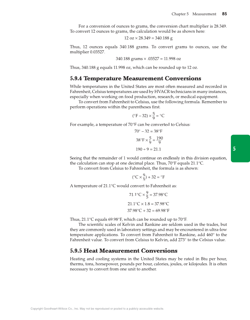 Math For Hvacr 1st Edition Page 85 95
