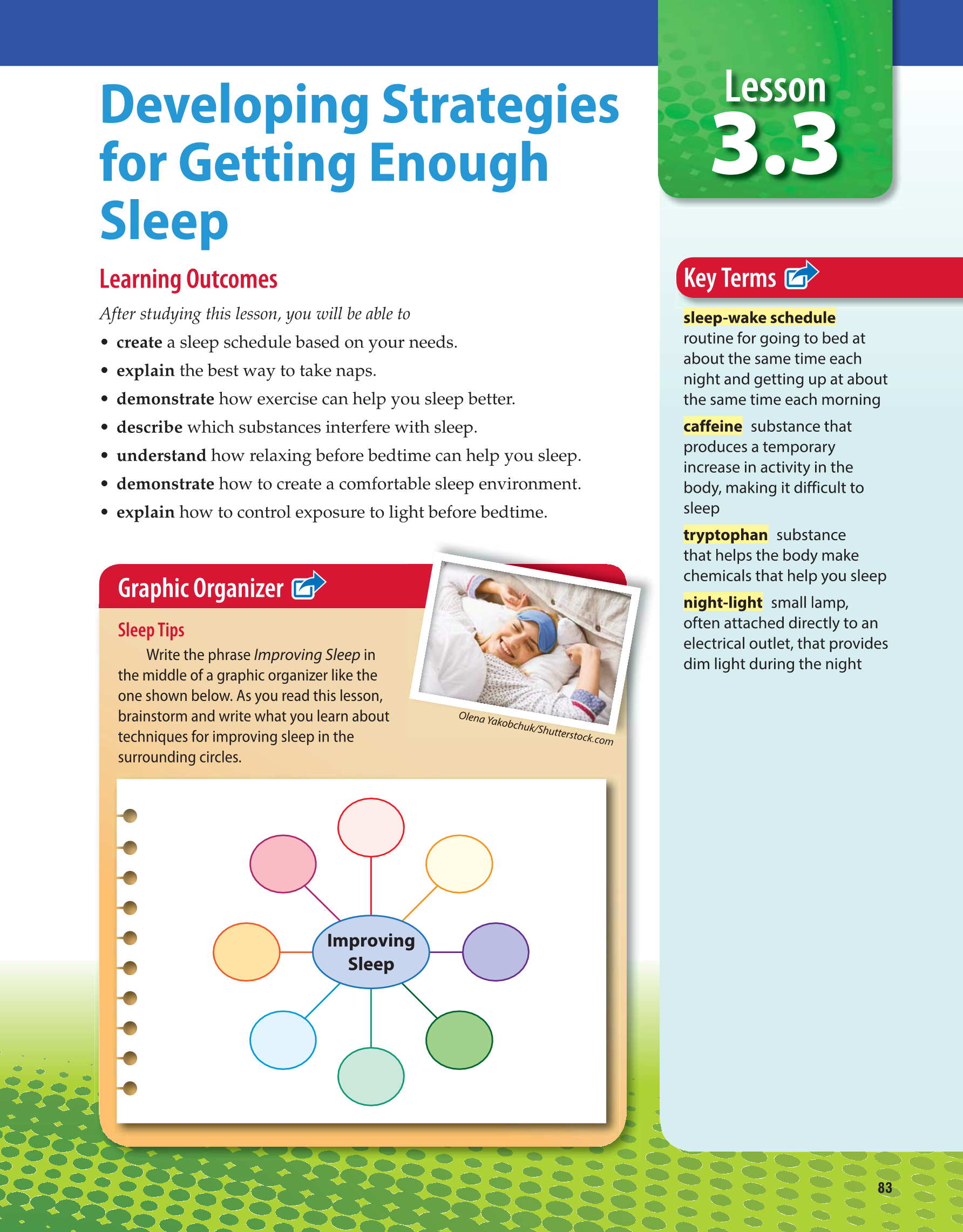 Printable Comprehensive Health Skills For Middle School 1st Edition Page 83