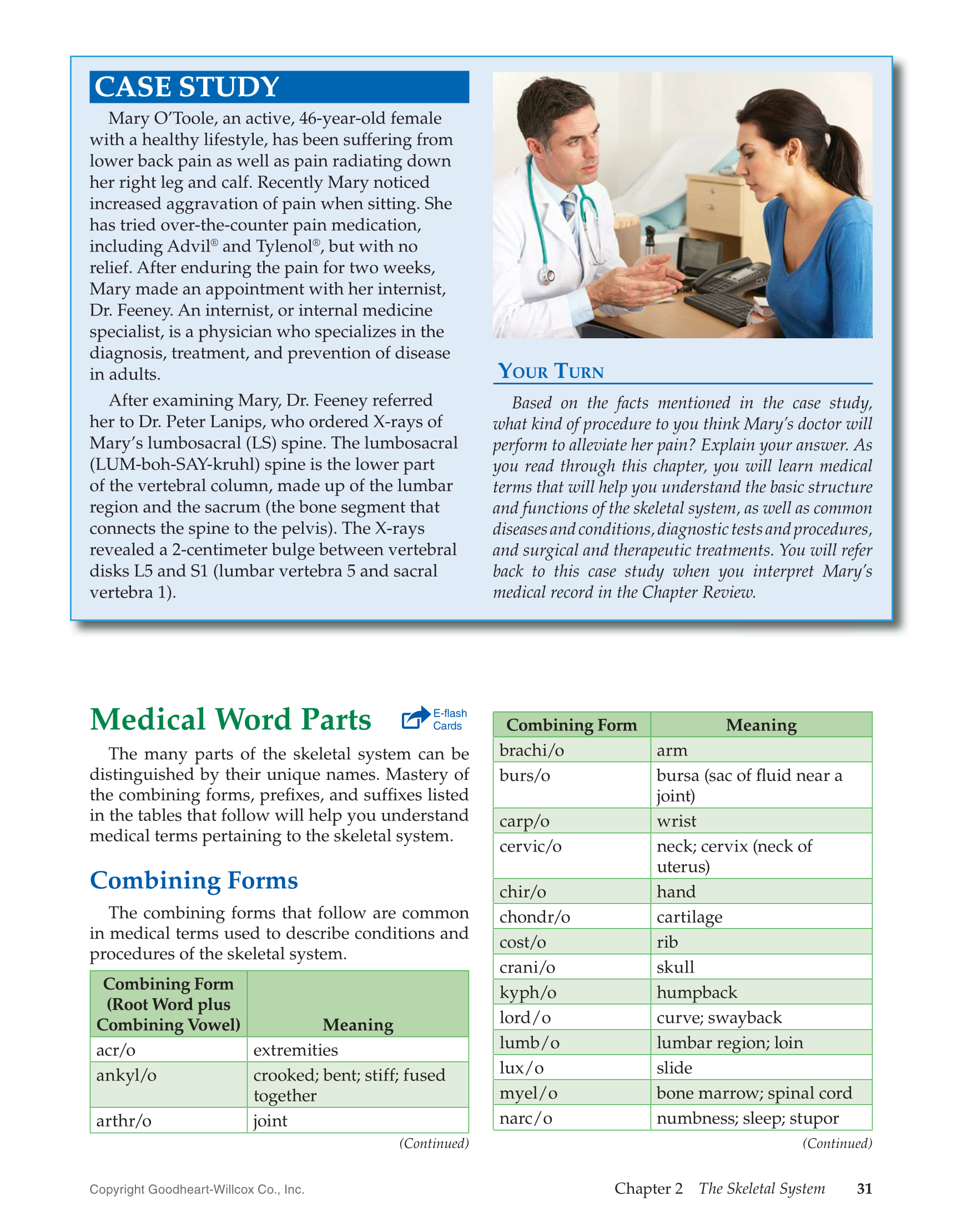 case studies for medical terminology students An assignment to write a case study for medical terminology as if i were responsible for writing the patient\'s medical record an assignment at colorado technical university online.