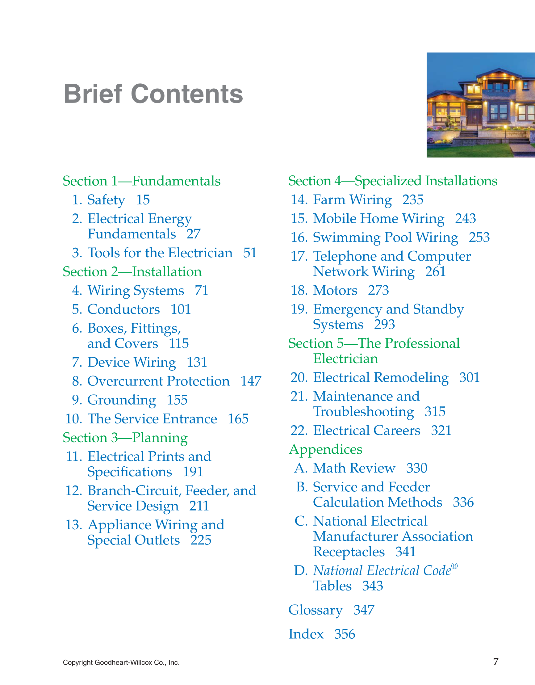 Printable Modern Residential Wiring 10th Edition Page 7 Electrical 101