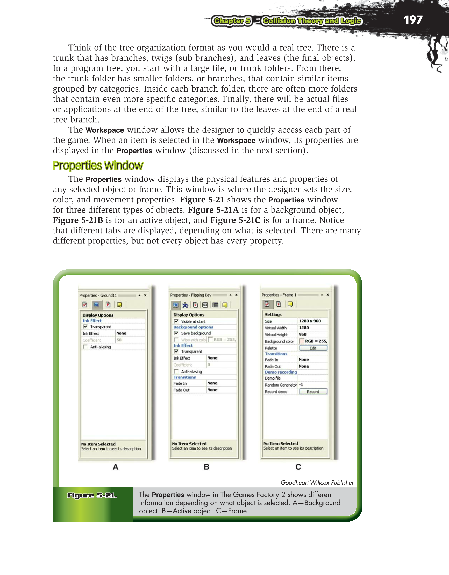 Printable: Video Game Design Foundations, 2nd Edition page 197